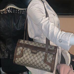 Auth Gucci supreme vintage handbag